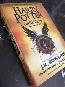 Brand new Harry Potter and the cursed child hard cover book