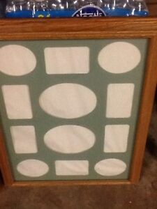 5 solid wood pictures frames Kitchener / Waterloo Kitchener Area image 1