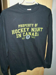 T SHIRT-HOCKEY NIGHT IN CANADA-