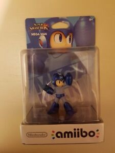 Mega Man Amiibo Smash Bros Edition New