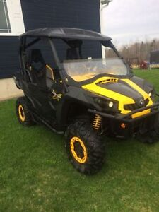 2012 CAN AM COMMANDER X 1000 8900$