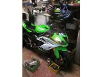 kawasaki zx6r 636 abs limited edition 274 miles!! (price reduced)