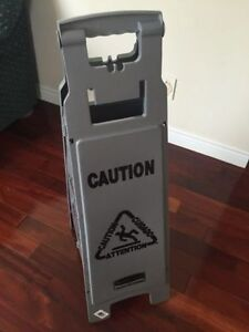 New wet floor signs available