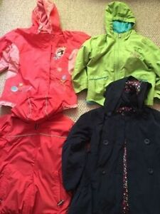 Boy's and girl's spring jackets size 6 and 6x. AVAILABLE