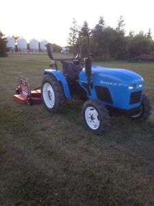 Benye tractor and 72 inch mower for Sale
