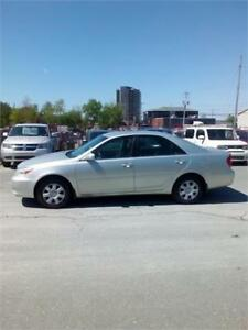 2003 TOYOTA CAMRY LE  AUTO H $2644 CLICK SHOW MORE  SOLD