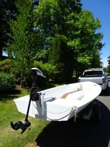 15 ft. Sailboat with trailer, and Minn Kota electric motor