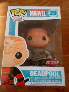 POP VINYLS GoT, Deadpool, Futurama