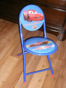 Chaise pliable pour enfant Flash McQueen