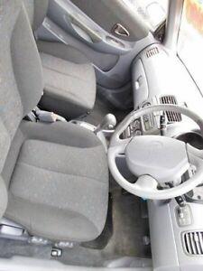 2002 Hyundai Accent White Automatic Hatchback