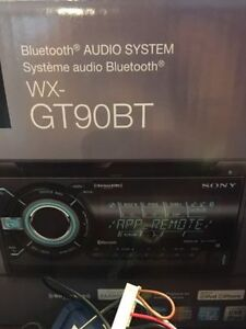 sony double / dbl din bluetooth usb aux stereo