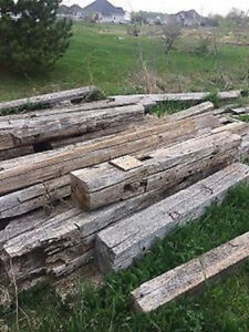 100-150 year old barn beams and boards for sale Gatineau Ottawa / Gatineau Area image 1