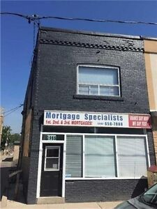 Commercial/ Residential Property! Comes With 2+2 BR & 3 Baths