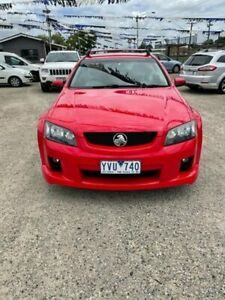 2008 Holden Commodore VE MY09 SV6 Red 5 Speed Automatic Sportswagon Morwell Latrobe Valley Preview