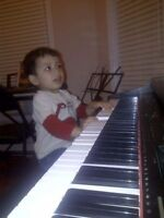 MUSIC LESSONS FOR PIANO AND GUITAR $11/30MINS AVAILABLE 7 DAYS