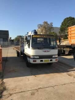 1993 Hino FD Crane Truck