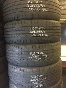 "19"" Winter Snow USED Tires in LIKE NEW Condition!!!!!!!"