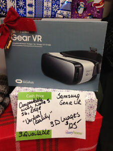 SAMSUNG GEAR VR   $100 PLUS TAX