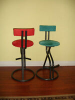 Set of two elegant contemporary Bar stools