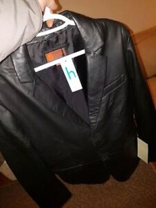 New in packaging 2 new ITALIAN HELium lamb skinleather jackets London Ontario image 1