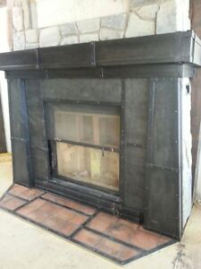 CUSTOM METAL FIREPLACES