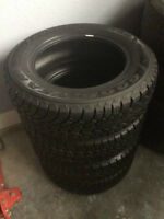 4 195/65R15 GoodYear Nordic Winter Tires