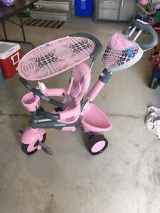 Smartrike 4 in 1 pink *great condition*