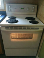 White Kenmore Electric Stove/oven Range - MUST GO!!!!