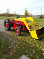 ..I'M WANTING TO BUY A FARM TRACTOR WITH A LOADER ..