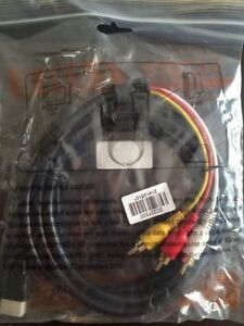 HDMI TO 3 RCA CABLE.