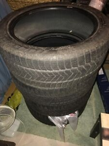 Selling 4 pirelli scorpion winter tires 245/45/R20