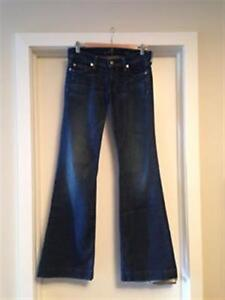 Blue Flare SEVEN jeans, Size 27 – PERFECT!!