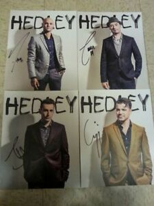 HEDLEY autographed pictures