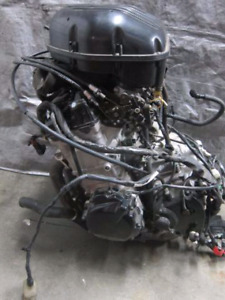 96-00 GSXR 750 ENGINE/TRANS COMPLETE