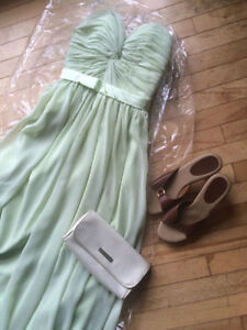 Small Mint Green Dress For Sale