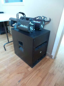 Professional Sound System (RCF- ART- 412 A tops- 2 pieces, & RCF