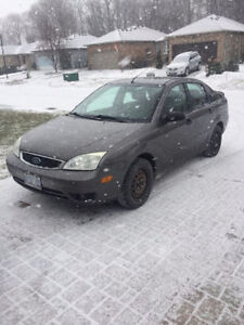 2006 Ford Focus SES Sedan with 2 Sets of Tires (Regular & Snow)