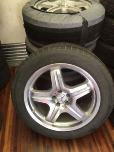 """20"""" Mercedes AMG Wheels with Nokian Winter 265/50R20 Tires 98%"""