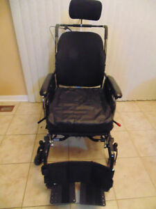 SUPER TILT WHEELCHAIR WITH ROHO CUSION IN BRAND NEW CONDITION