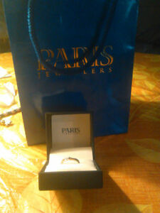 Engagement Ring from Paris Jewelers