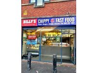 FISH N CHIP SHOP BUSINESS FOR SALE NORTH MANCHESTER