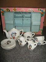 Set de thé - Vaisselle de porcelaine miniature