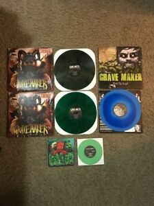"Gravemaker LPs/7"" - Reduced Prices"