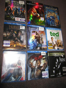 Movie Assortment - NEW, sold on choice - $9.00 ea.