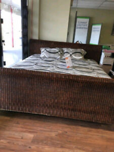 KING SIZE WICKER BED FRAME ONLY $300!! NO TAX!!!  PRICE IS FIRM!