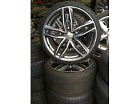 """20"""" AUDI RS6 STYLE ALLOY WHEELS / TYRES"""