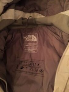 North Face Jacket - White Down Fill