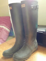 Grey Hunter Boots- $60 Size 39 or 8.5-9