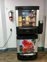 SNACK AND POP COMMERCIAL VENDING MACHINES