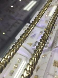 SOLID CUBAN GOLD CHAIN London Ontario image 2